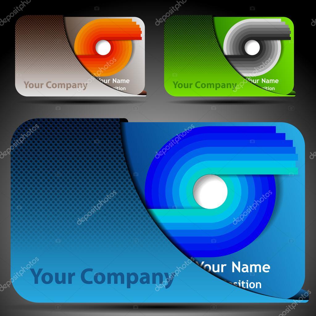 Colorful futuristic business card template layout with case colorful futuristic business card template layout with case abstract metallic pattern various colors colourmoves