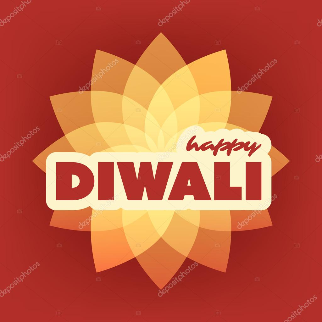 Happy Diwali Card Abstract Greeting Card Or Background Creative