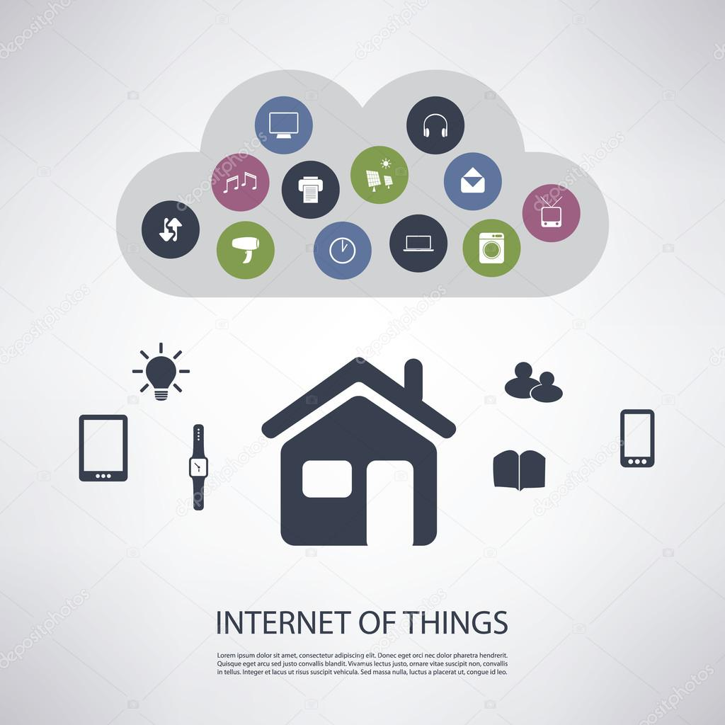 Internet of things digital home and networks design for Digital home designs