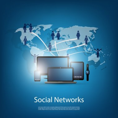 Networks, Cloud Computing, Social Media, Communication Design