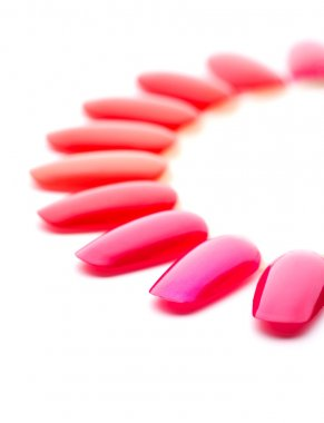 Red nail varnishes