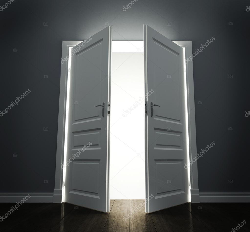 Stock Room Doors : Room with open doors — stock photo nomadsoul