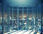 Noční pohled z okna výšková