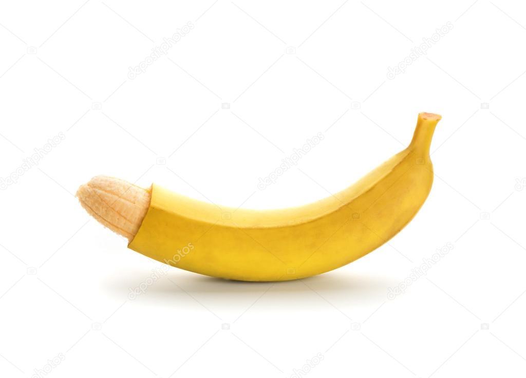 фото члена банана