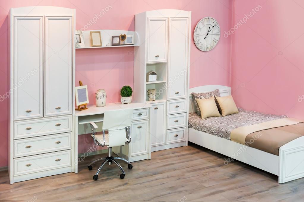 Interno camera da letto bambini — Foto Stock © Nomadsoul1 #72039013