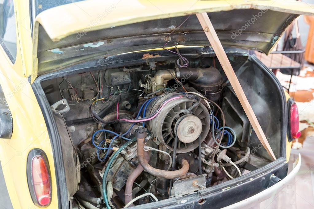 Old car engine — Stock Photo © Nomadsoul1 #72039459