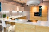 Photo Modern kitchen interior