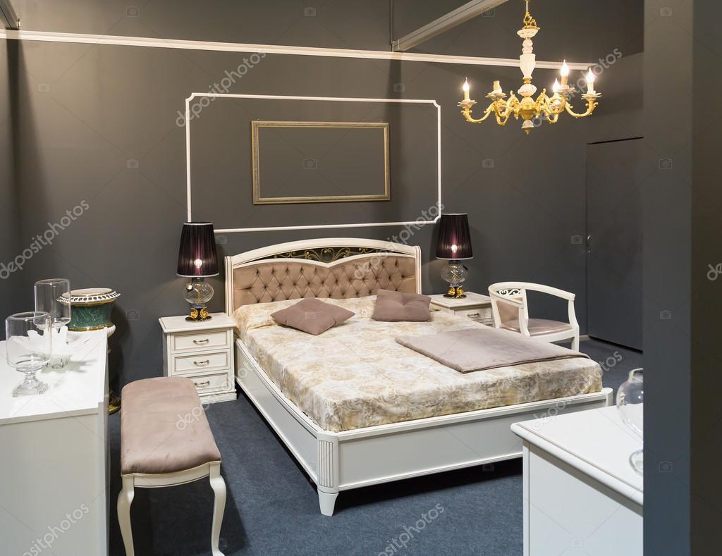 Moderne Luxus Schlafzimmer U2014 Stockfoto