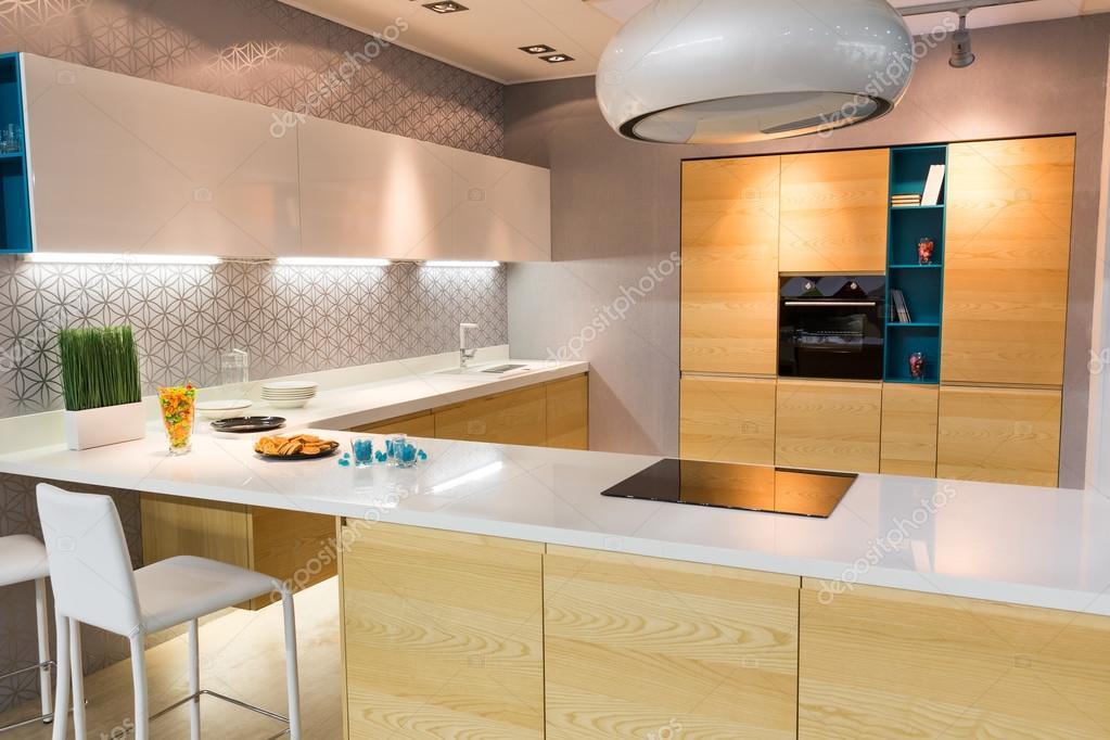Int rieur de cuisine moderne photographie nomadsoul1 - Interieur cuisine moderne ...