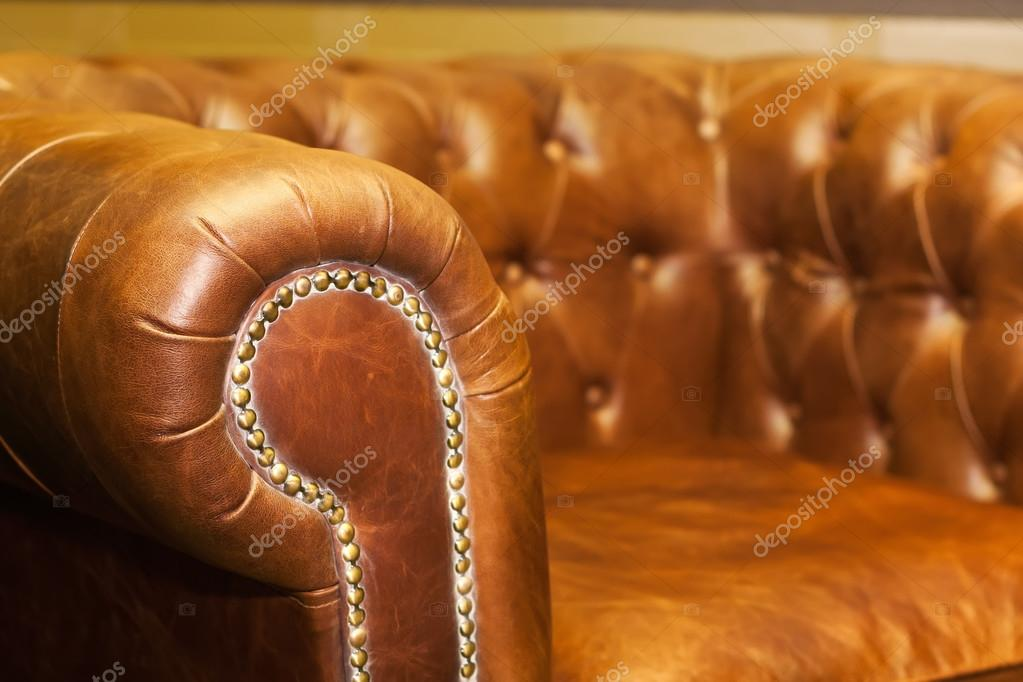 Comfortabele Leren Bank.Comfortabele Leren Bank