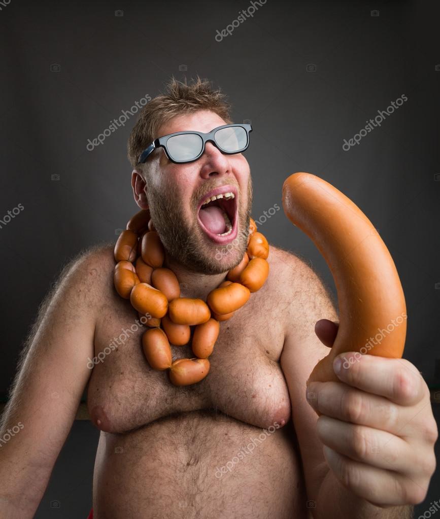 Секс с колбасой - Домашнее видео