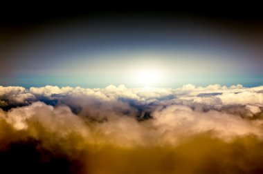 sky above the clouds