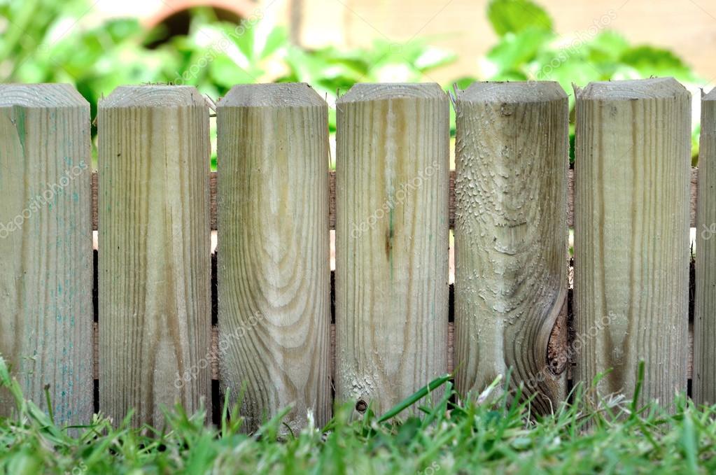 Wooden Border In Garden Stock Photo C Sanddebeautheil 109031904