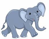 šťastný slon