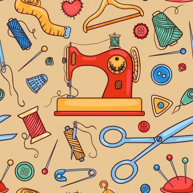 Seamless sewing pattern