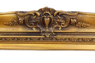 Baroque golden picture frame