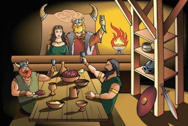 Vikings feast