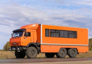 Off-road bus Kamaz 43118