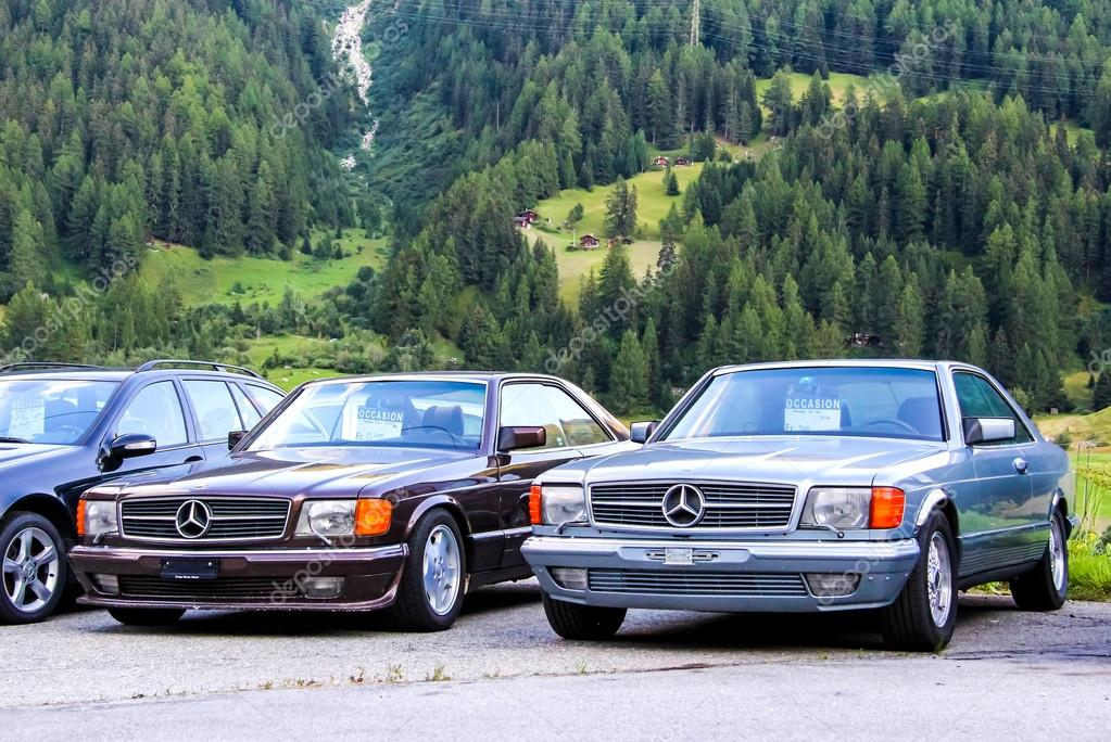 mercedes benz w126 sec class stock editorial photo artzzz 79999606