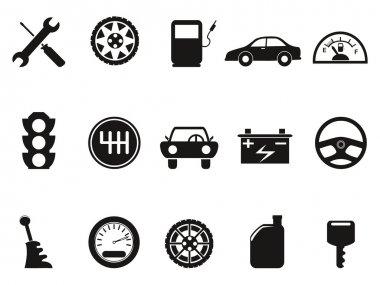 black auto icons