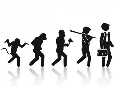 Evolution of the man