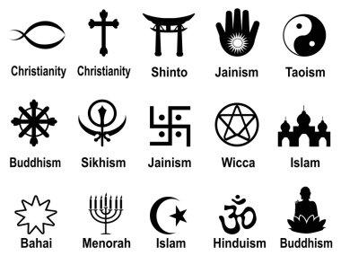 black religious symbols icons