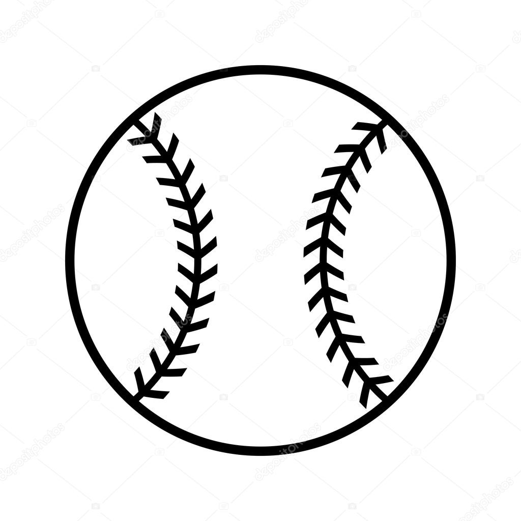 baseball vector icon stock vector briangoff 100155330 rh depositphotos com baseball vector files baseball vector art