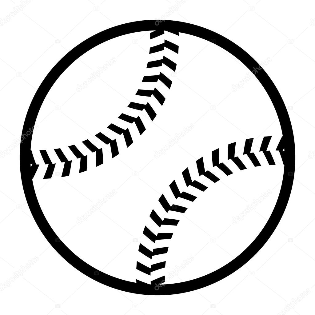 baseball vector icon stock vector briangoff 100155360 rh depositphotos com baseball vector art baseball vector art free