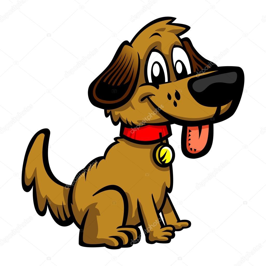 Illustration vectorielle de chiot chien dessin anim image vectorielle briangoff 100368228 - Image de chien dessin ...