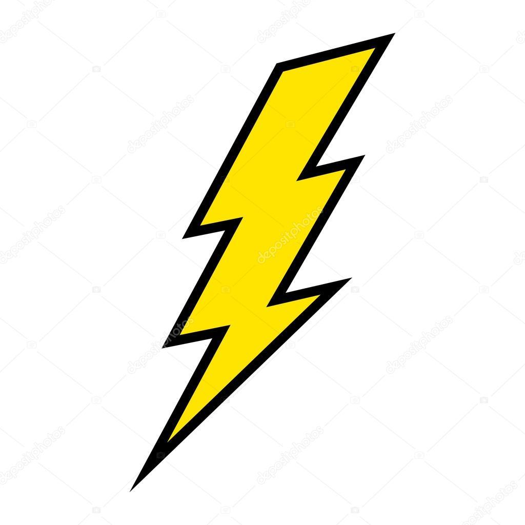 lightning bolt vector icon stock vector briangoff 100813522 rh depositphotos com lightning bolt vector art free lightning bolt vector png