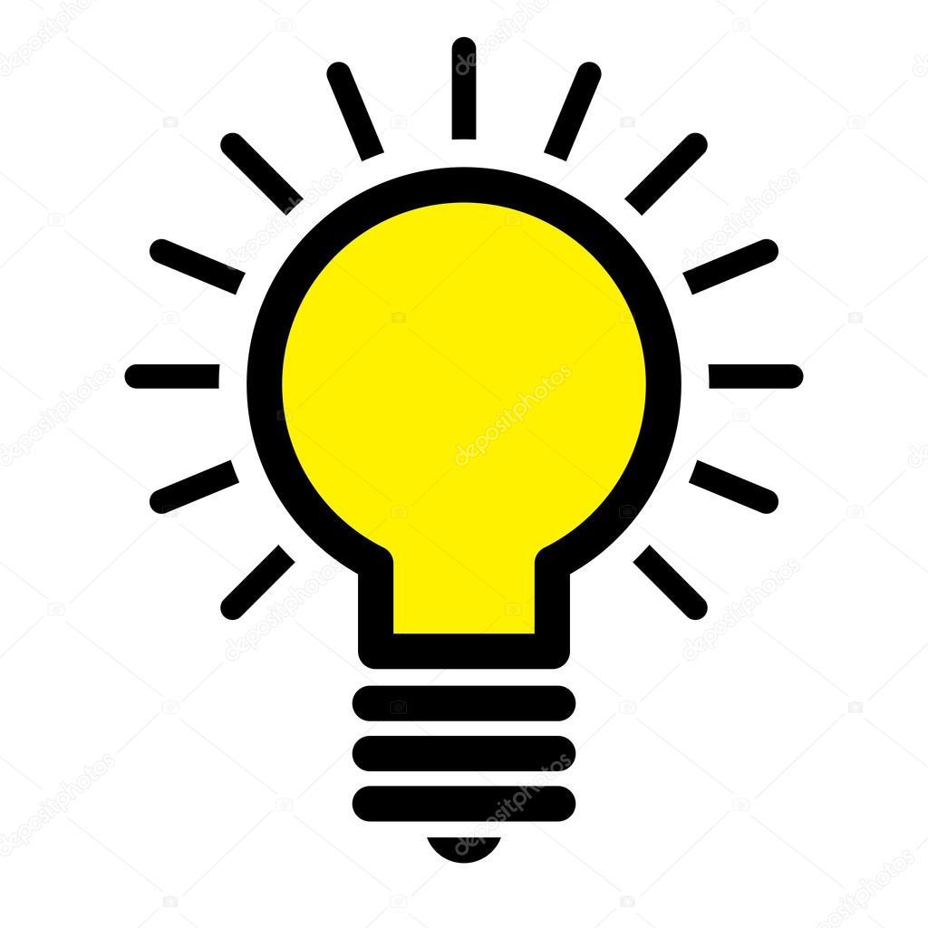 High Quality Lightbulb Idea Vector Icon U2014 Stock Vector #100819788