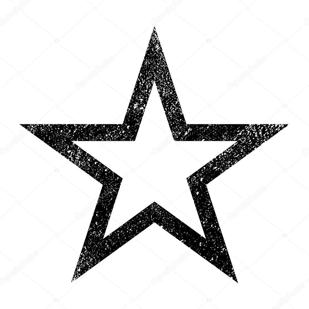 Star Symbol Vector Icon Stock Vector Briangoff 101065412