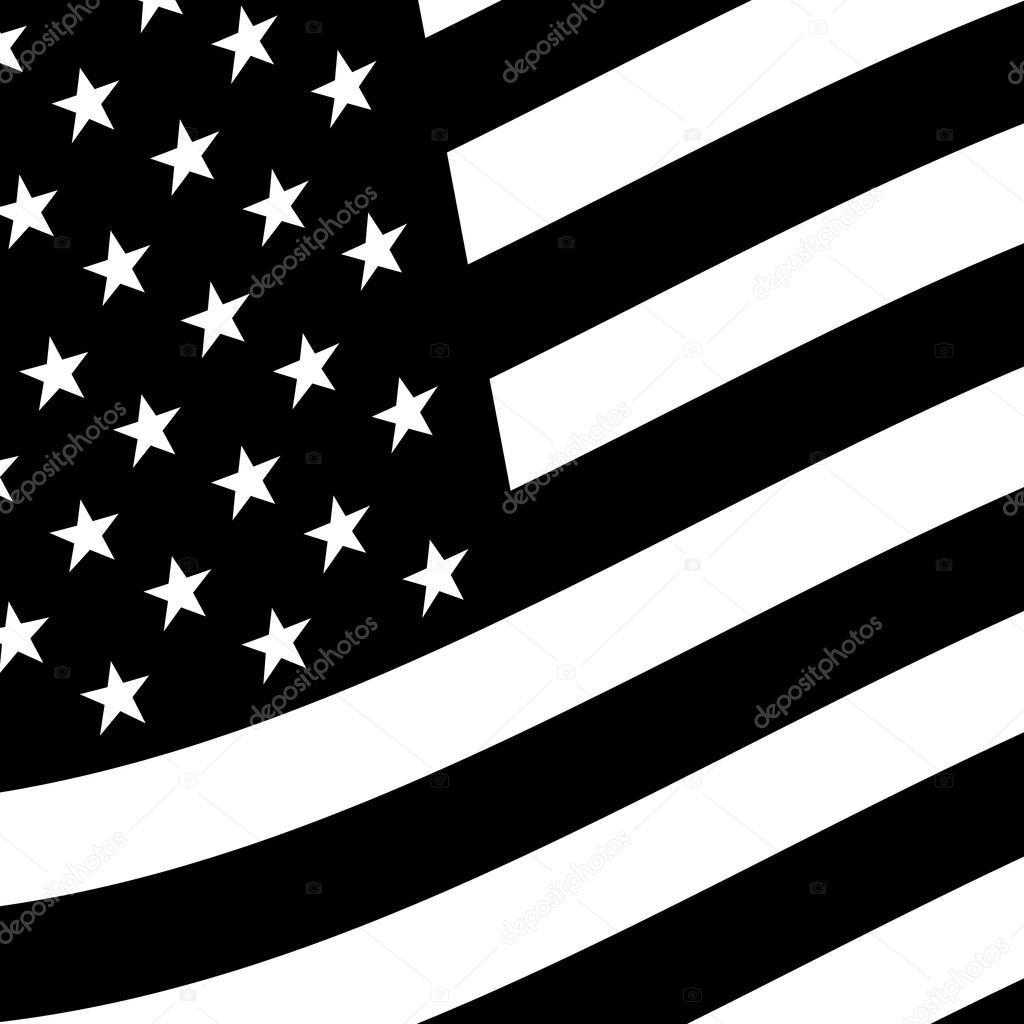 american flag vector icon � stock vector 169 briangoff