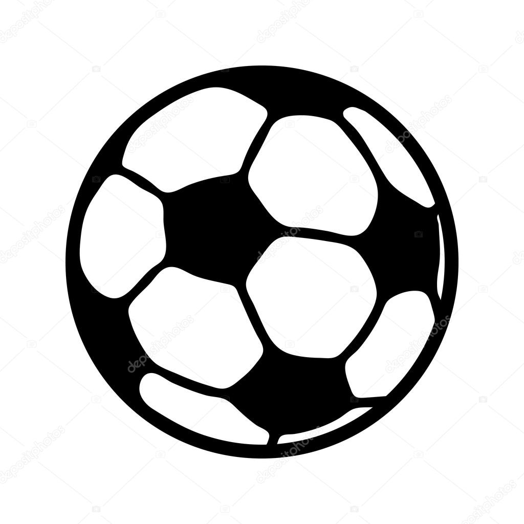 soccer football vector icon stock vector briangoff 101292814 rh depositphotos com football vector art football vector black and white