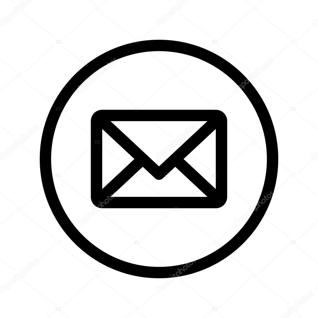 envelope mail vector icon stock vector briangoff 101405812 rh depositphotos com phone and email icon vector free download email icons vector free download