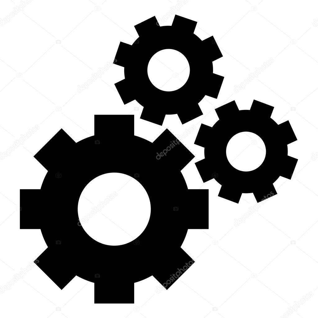 machine gears clipart