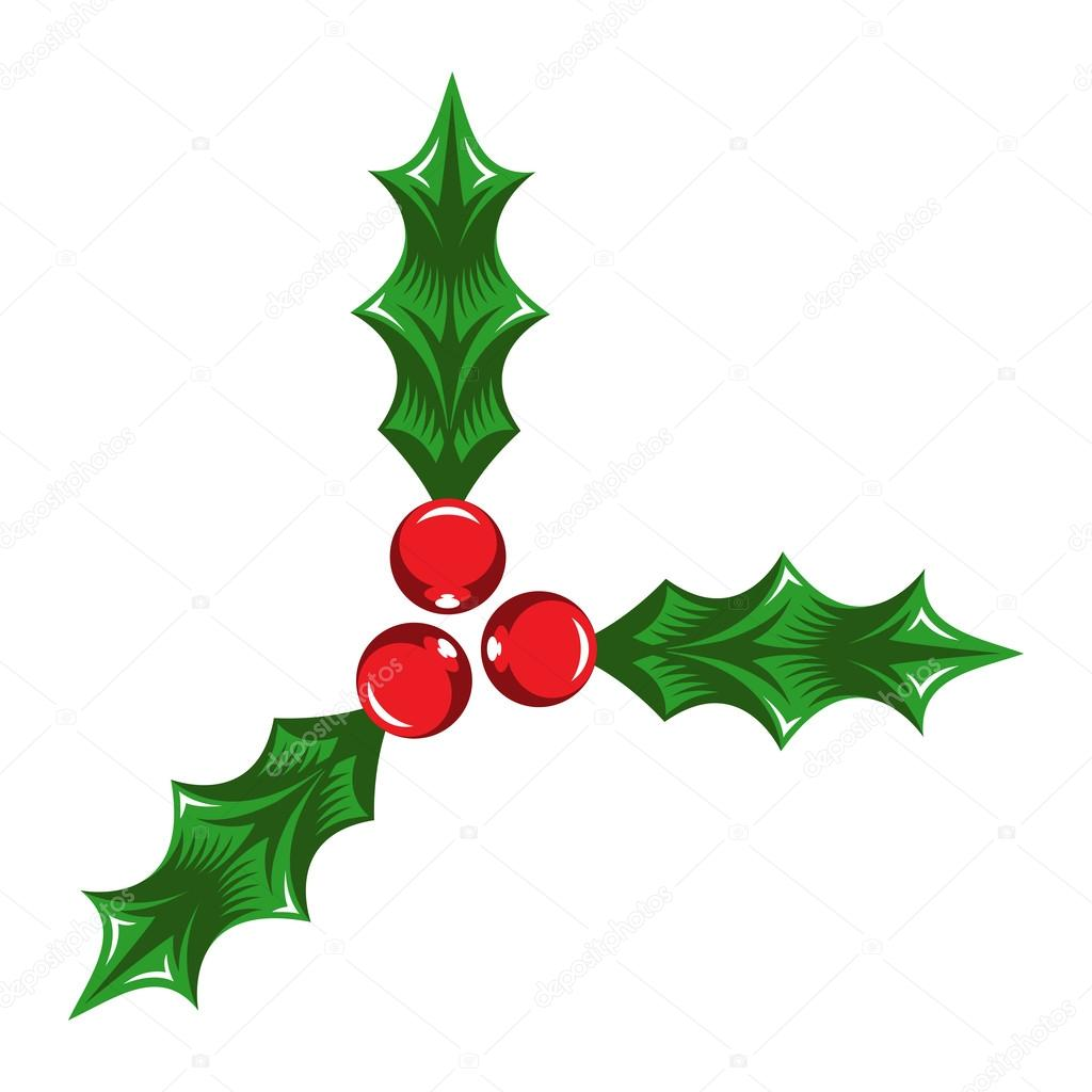 christmas mistletoe vector icon stock vector briangoff 101542774 rh depositphotos com mistletoe vector black and white mistletoe vector free download