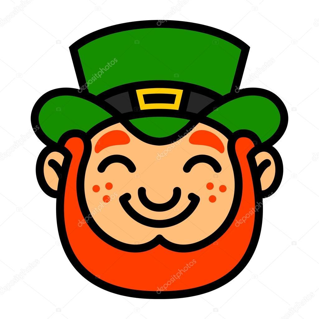 Ilustración de dibujos animados de vector de Leprechaun St. Patrick ...