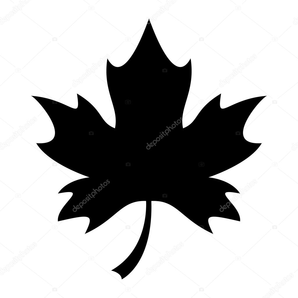 maple leaf vector icon stock vector briangoff 99821204 rh depositphotos com maple leaf vector free maple leaf vector image