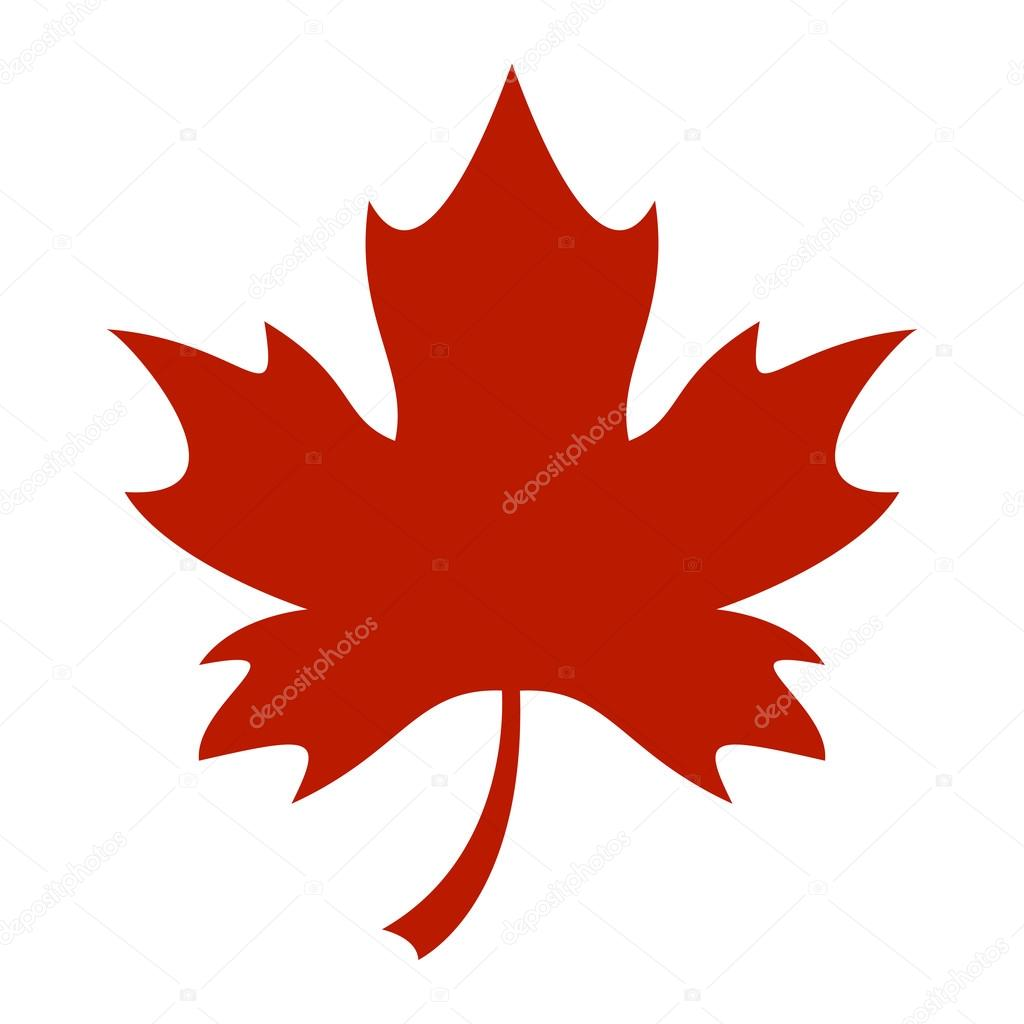 maple leaf vector icon stock vector briangoff 99821210 rh depositphotos com maple leaf vector free download maple leaf vector icon