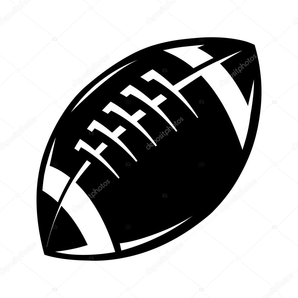 football vector icon stock vector briangoff 99823188 rh depositphotos com football vector art football vector black and white