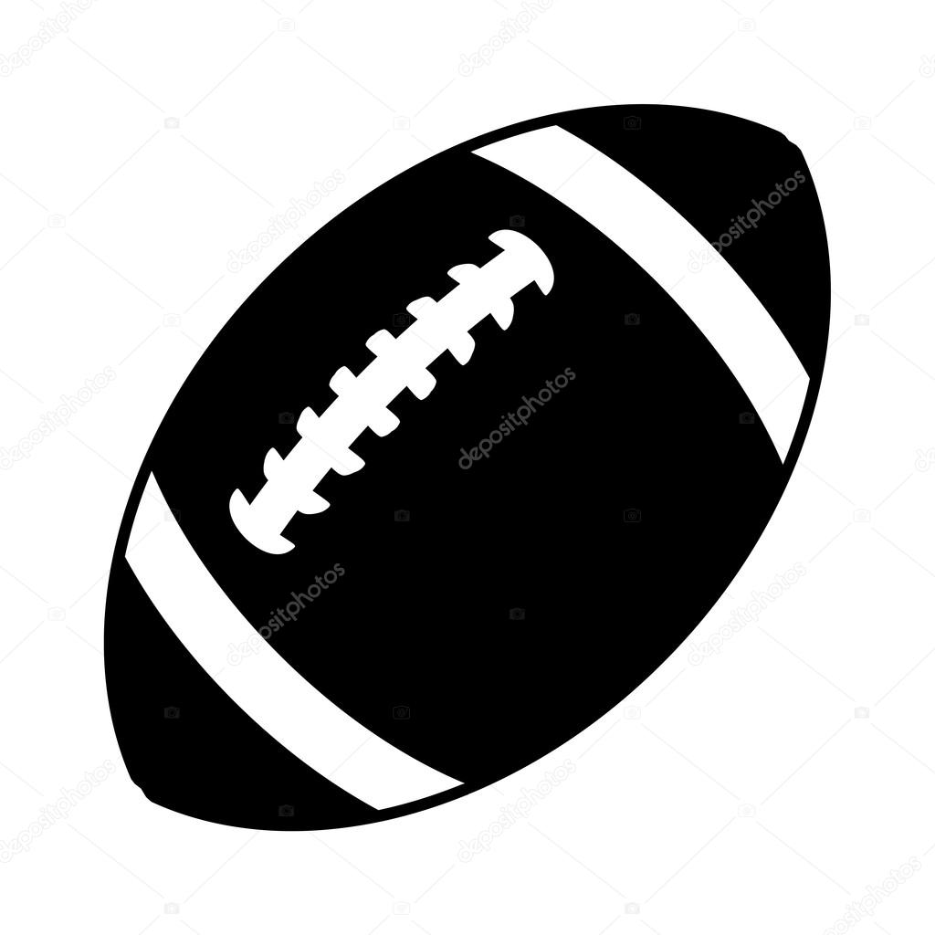 football vector icon stock vector briangoff 99823248 rh depositphotos com american football vector free american football vector free