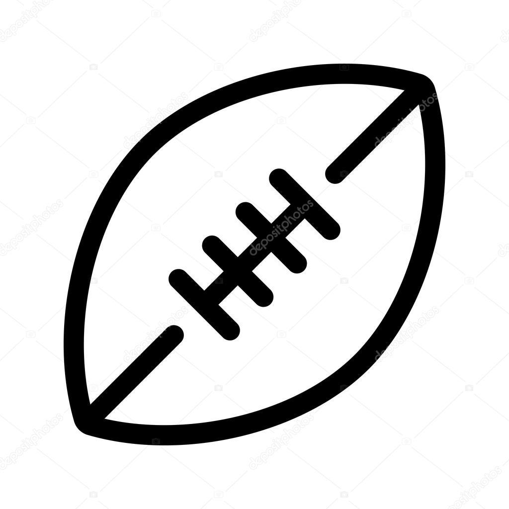 Football Vector Icon Stock Vector C Briangoff 99823466