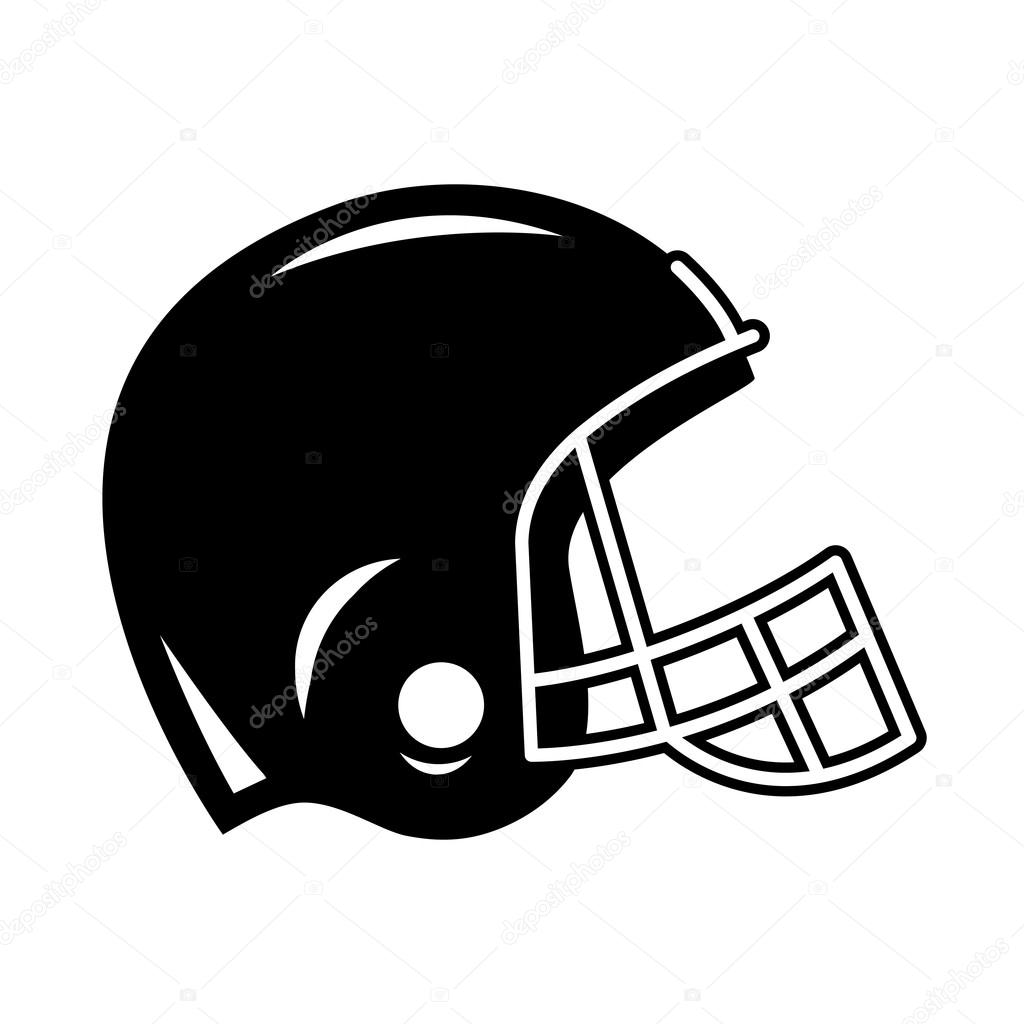 football helmet vector icon stock vector briangoff 99826500 rh depositphotos com