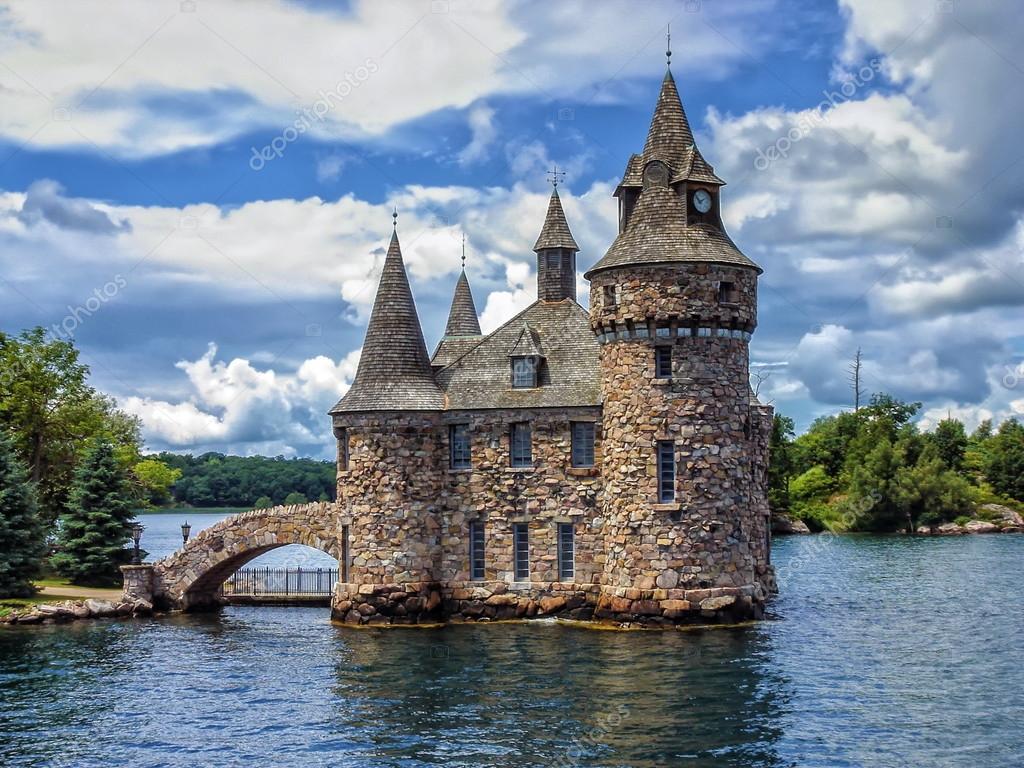 Casa di potere del castello boldt sul lago ontario canada for Disegni casa sul lago