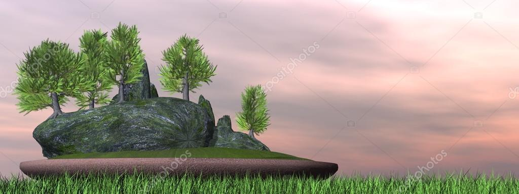 Japanese Cedar Tree Bonsai 3d Render Stock Photo C Elenarts 61891891