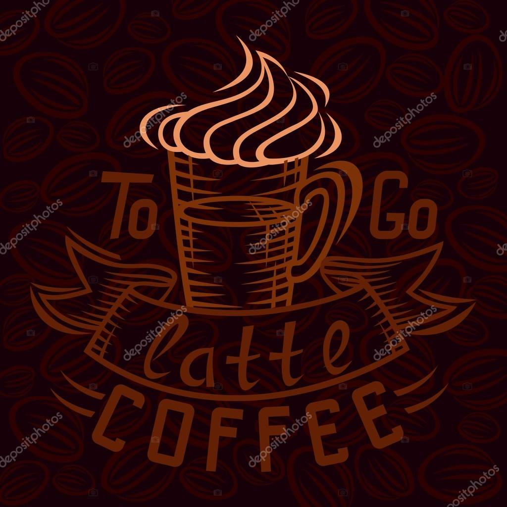 kaffee pause men handzeichnung mode illustration des themas des kaffee schriftzug coffee. Black Bedroom Furniture Sets. Home Design Ideas