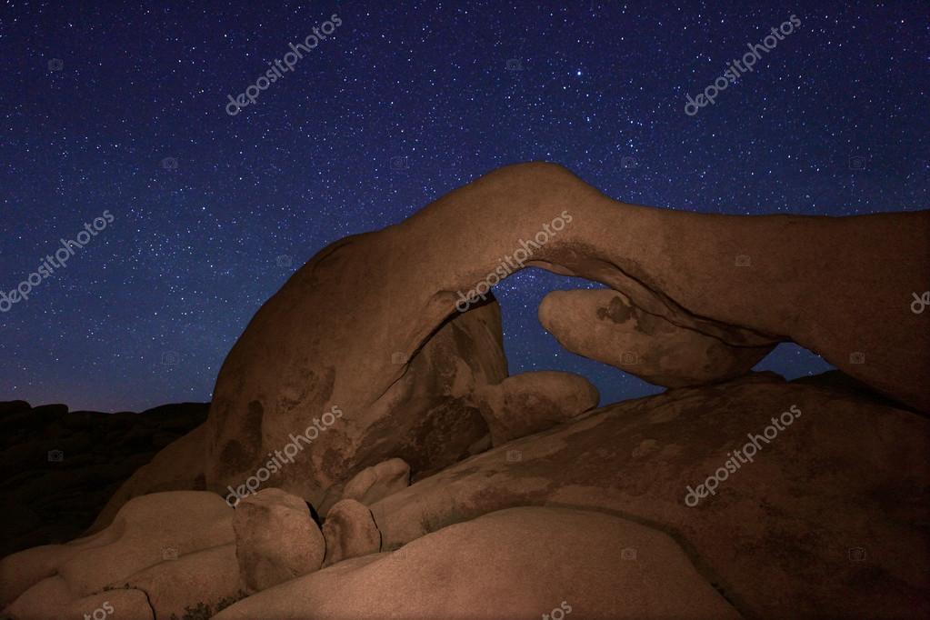 Star Long Exposure Over Joshua Tree National Park