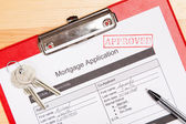 Photo Mortgage application form