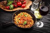 tradiční špagety bolognese